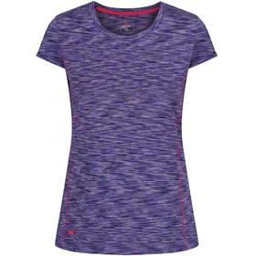 Regatta Hyperdimension Bluzka z krótkim rękawem Kobiety fioletowy